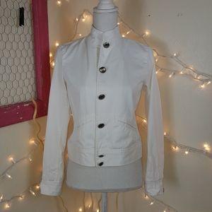 🆕️(W) Chaps White Denim Jacket Size S